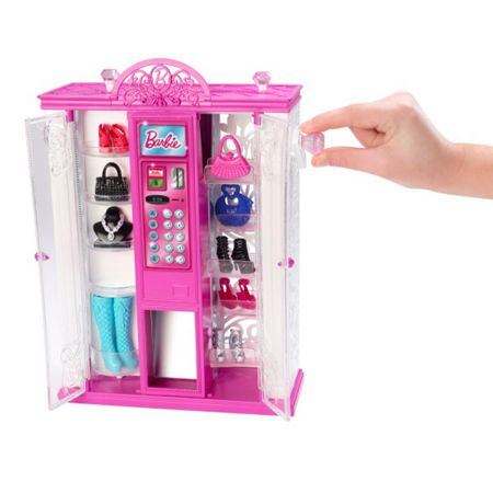 Barbie Barbie Vending Machine Fashion Playset