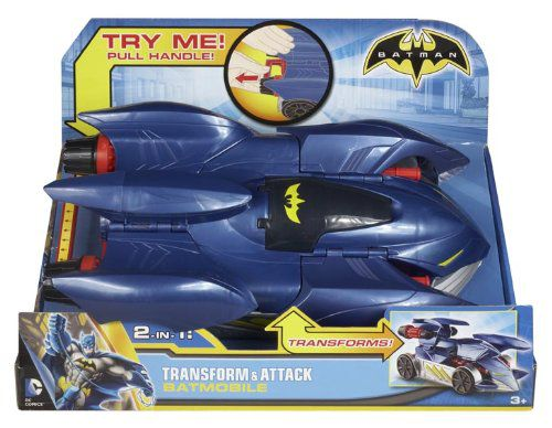 Batman 2in1 Transform & Attack Batmobile Vehicle