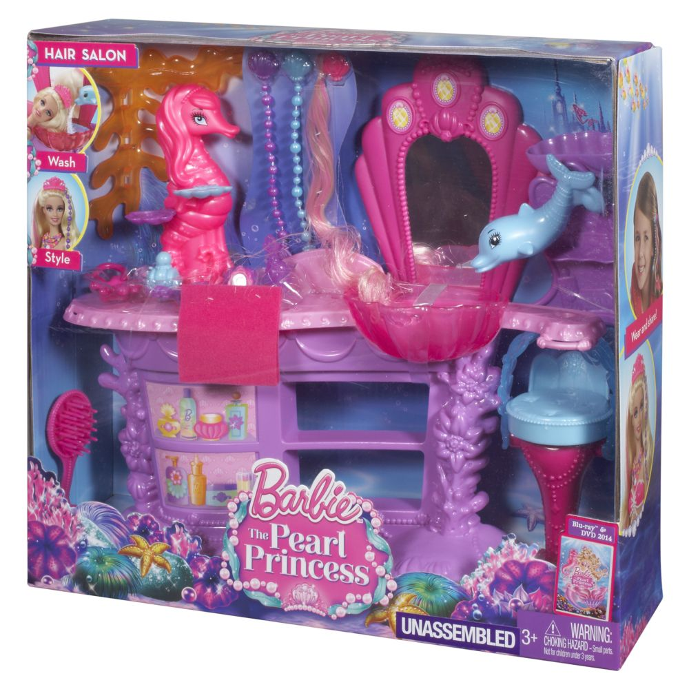Barbie Mermaid Salon Playset