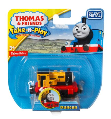 Thomas the Tank Engine Take-n-Play - Diecast Duncan