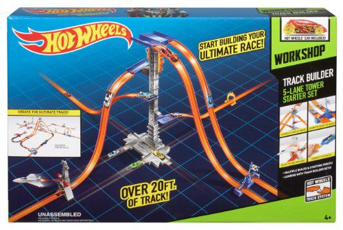 Hot Wheels Workshop 5 Lane Tower Starter Set