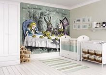 Graham & Brown Alice in Wonderland Tea Party Wall Mural