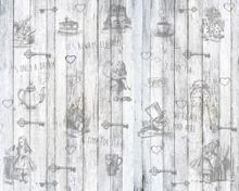 Graham & Brown Alice in Wonderland Explore Wall Mural