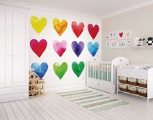 Graham & Brown Bright Colour My Heart Wall Mural