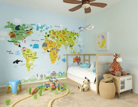 Graham & Brown Kids The Whole Wide World Wall Mural