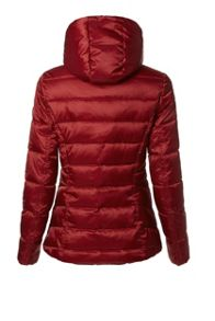 Covert Overt Quilted Jacket With Removable Hood