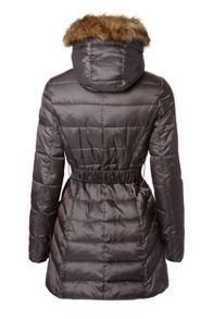 Covert Overt Quilted Jacket With Removable  Trim