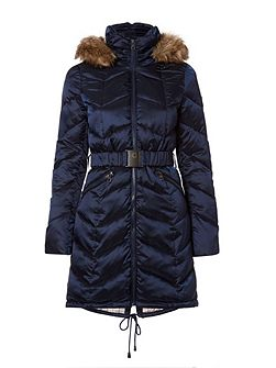 Quilted Jacket With Zip Pockets
