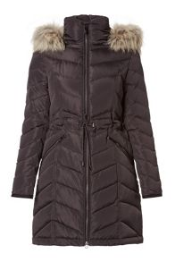 Carolina Cavour Down Soft Windbreaker Quilted Jacket