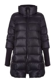 Carolina Cavour Ladies Down Jacket With Funnel Neck