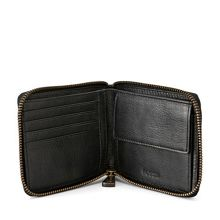Fossil ML3230001 mens eastate zip around wallet