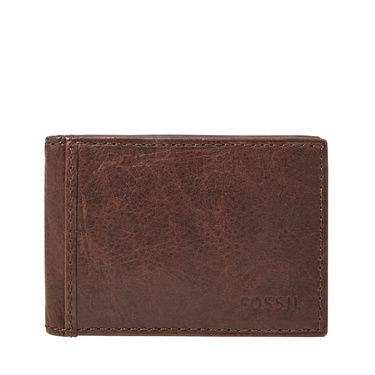 Fossil ML3438200 mens truman money clip bifold Black