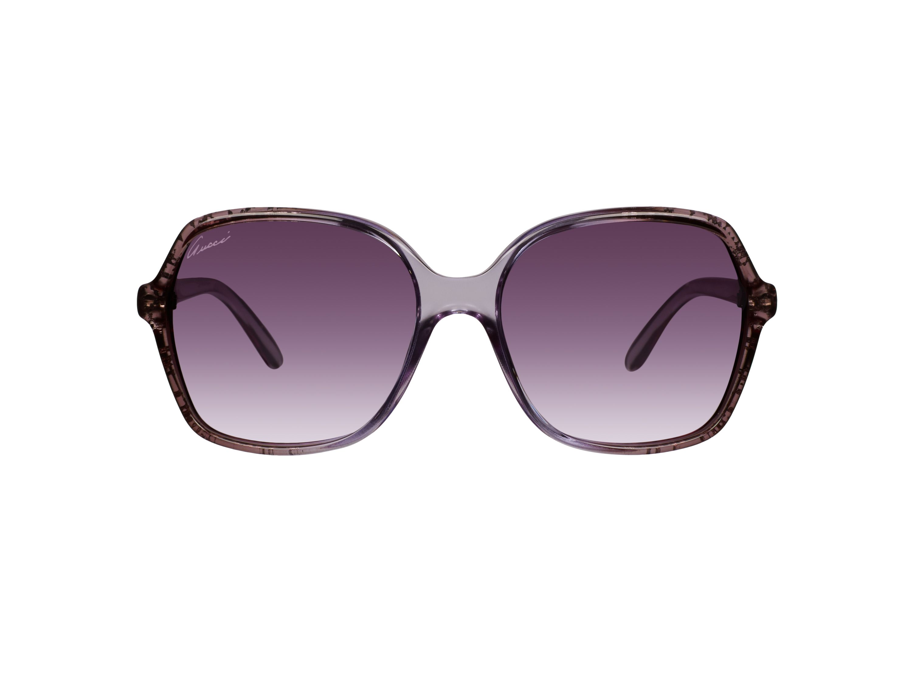 Women`s grey rectangular sunglasses