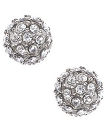 JUDITH JACK Marcasite Stud Earrings