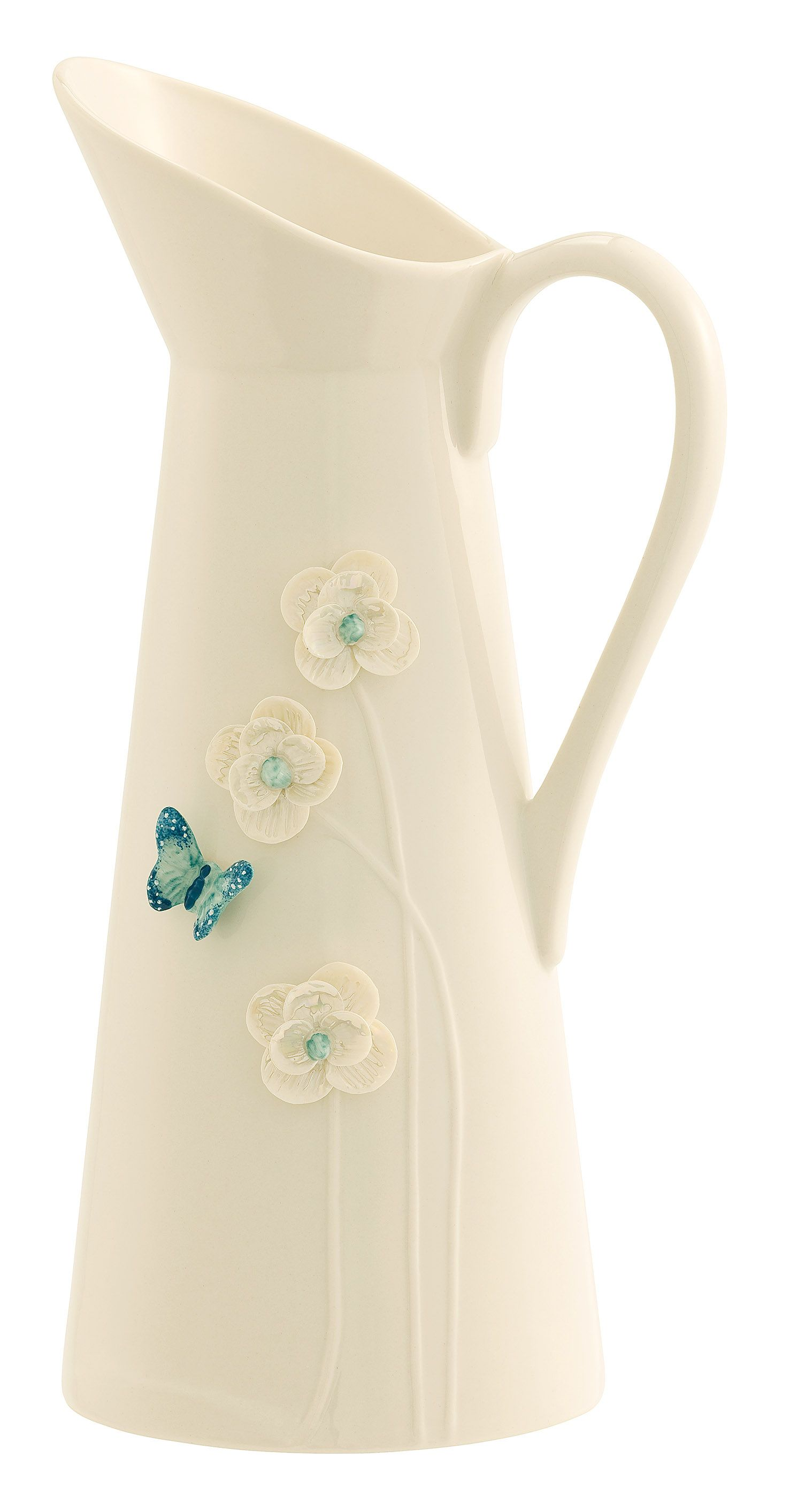 Image of Belleek Living Azure Collection pitcher
