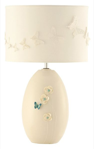 Belleek Living Azure Collection lamp and shade