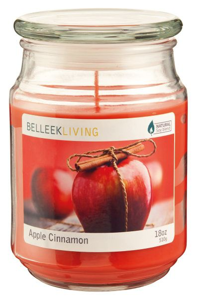 Belleek Living Applie cinnamon candle