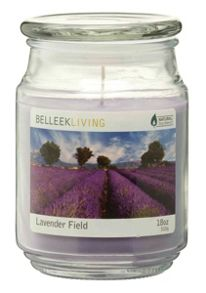 Belleek Living Lavender field candle