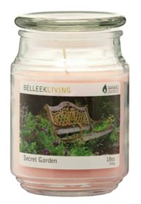 Belleek Living Secret garden candle