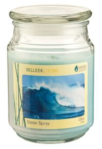 Ocean spray candle