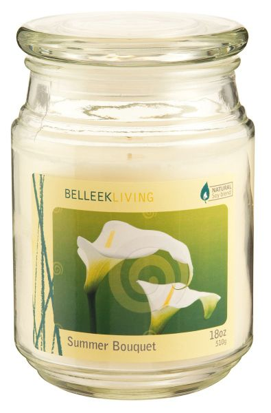 Belleek Living Summer bouquet candle