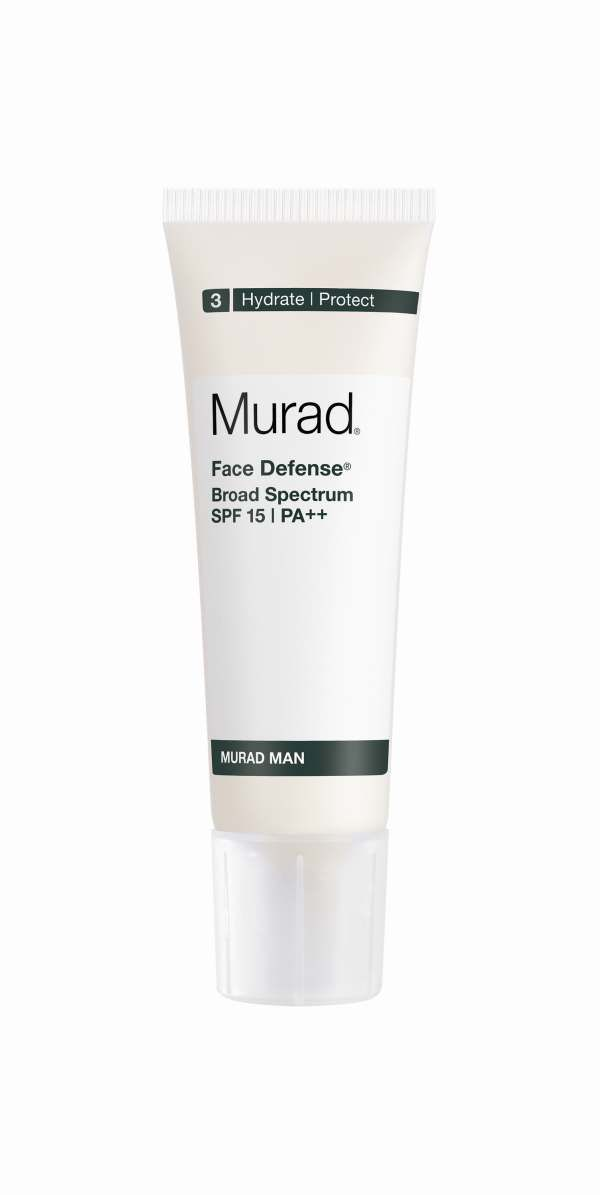 Man Face Defense SPF 15