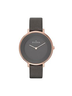 Refined Dune Leather Ladies Watch