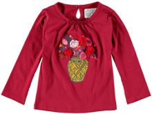 Rockin' Baby Girls Long-Sleeve Vase T-Shirt