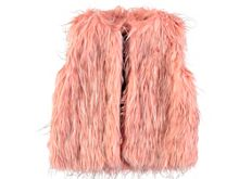 Rockin' Baby Girls Faux Fur Gilet