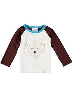 Boys Bear Print T-Shirt