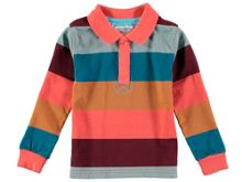 Rockin' Baby Boys Stripe Rugby Top