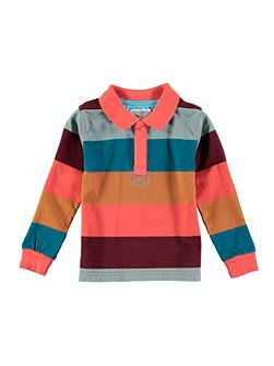 Boys Stripe Rugby Top