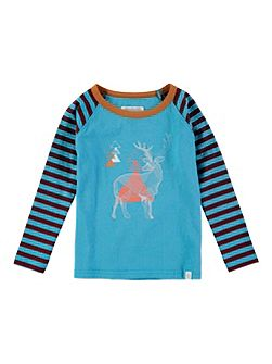 Boys Mountain Deer T-Shirt