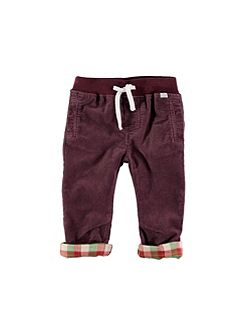 Boys Brown Cord Trousers