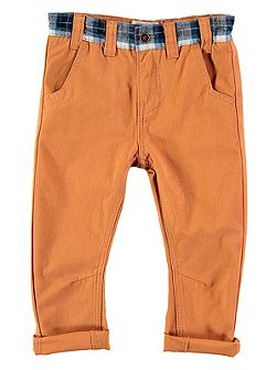 Boys Camel Cord Trousers