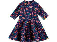 Rockin' Baby Navy Print Dress