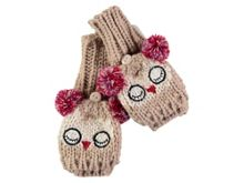 Rockin' Baby Owl Fold Over Gloves