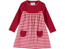 Rockin' Baby Girls Red Stripe Dress