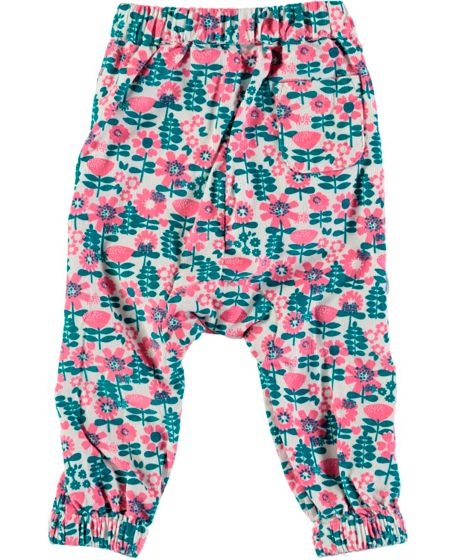 Rockin' Baby Girls Floral Print Trousers