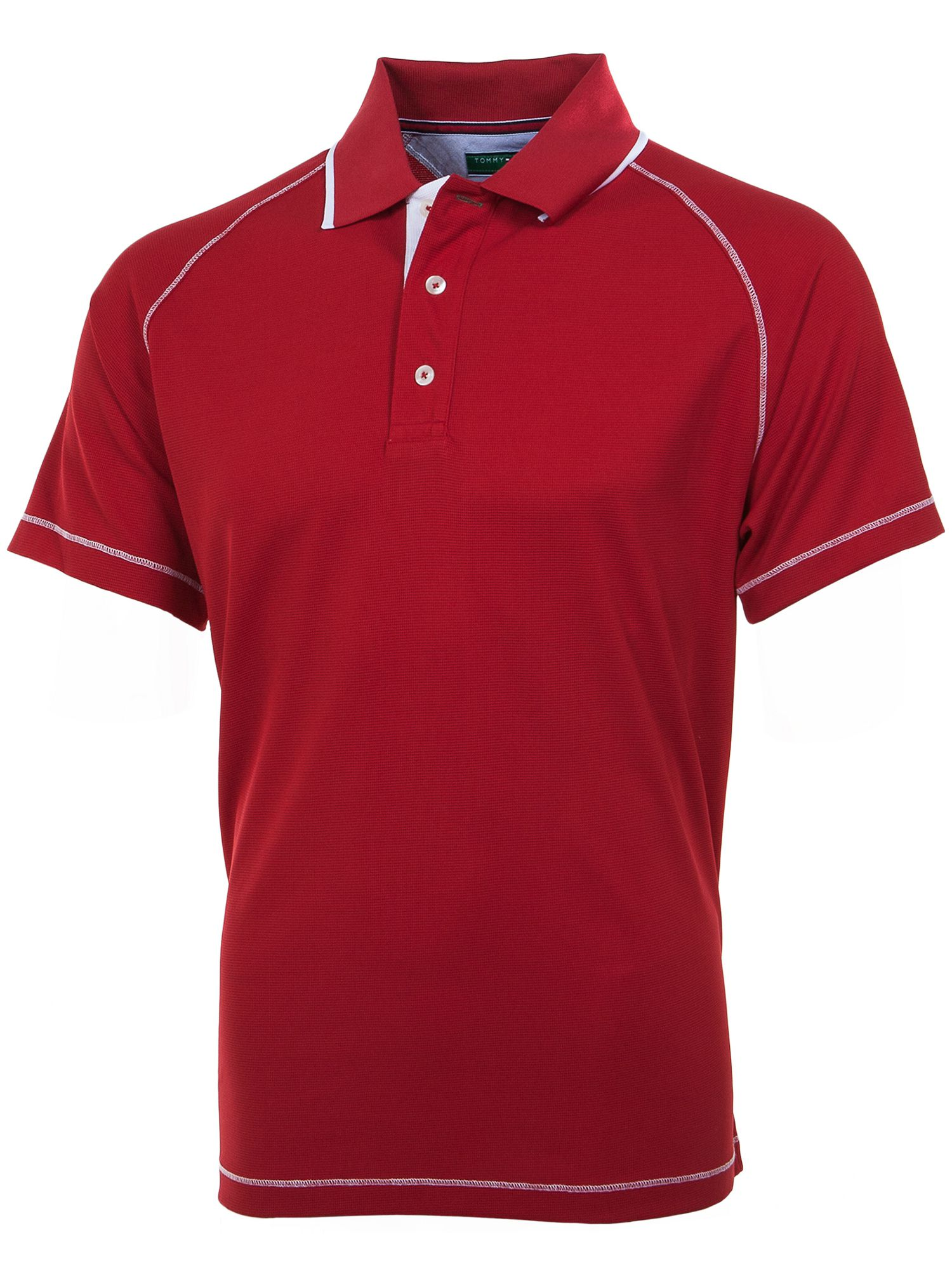 Marshall raglan polo shirt