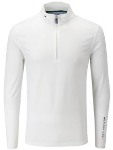 Tommy Hilfiger Golf Jason Zip Mock Neck