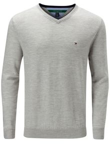 Tommy Hilfiger Golf Preston v neck jumper