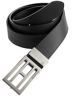 Tommy Hilfiger Golf Reversible Trophy Leather Belt