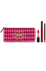 M·A·C Nutcracker Sweet Red Lip Bag
