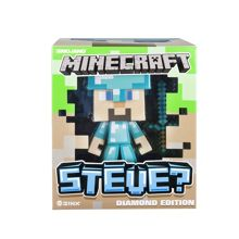 Minecraft Diamond Steve Figure with Accessories