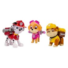 Action Pup Set - Marshall, Skye & Rubble