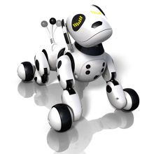 Dalmatian robotic puppy