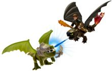 Hiccup And Toothless Vs. Armoured Dragon
