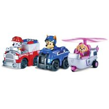 PAW PATROL Racers Team Pack: Chase, Marshall & Skye