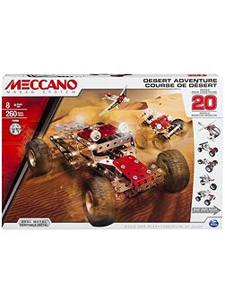 Meccano Desert Adventure Construction Set